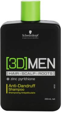 Schwarzkopf Professional [3D] MEN sampon korpásodás ellen